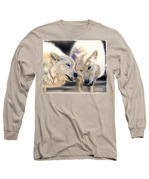 Arctic Pair Long Sleeve T-Shirt by Sandi Baker