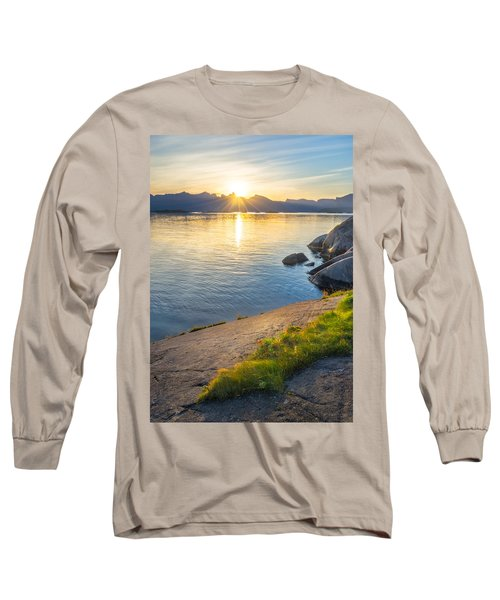 Long Sleeve T-Shirt featuring the photograph Arctic Sunrise by Maciej Markiewicz