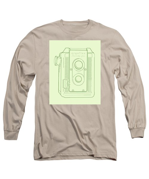 Argoflex Green Long Sleeve T-Shirt by Christina Lihani