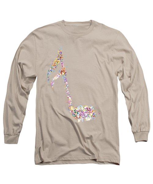 Aria T-shirt Long Sleeve T-Shirt by Herb Strobino