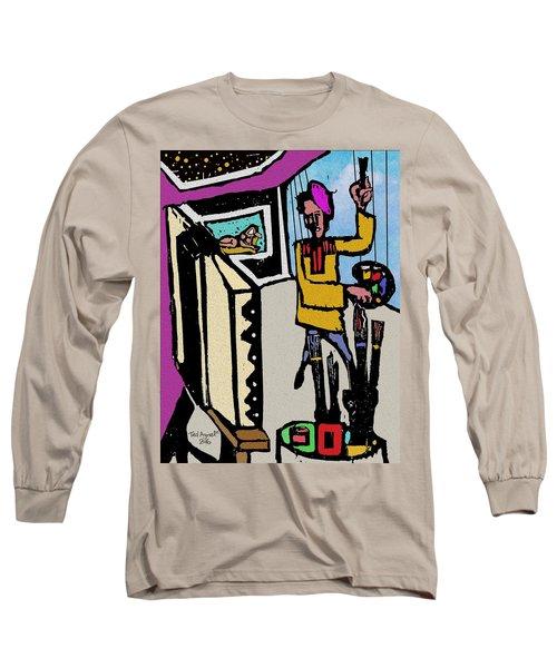 Artiste In The Studio Long Sleeve T-Shirt