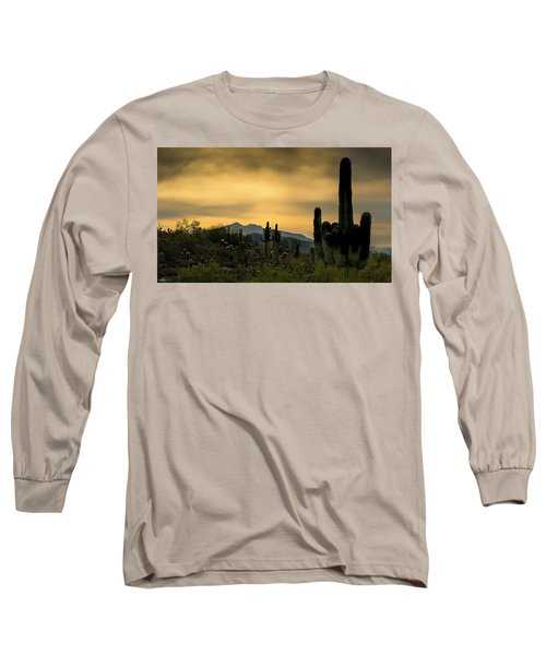 Arizona And The Sonoran Desert Long Sleeve T-Shirt