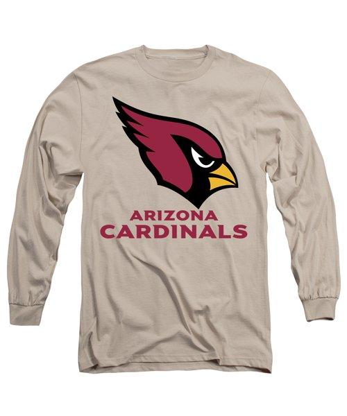 Arizona Cardinals Translucent Steel Long Sleeve T-Shirt