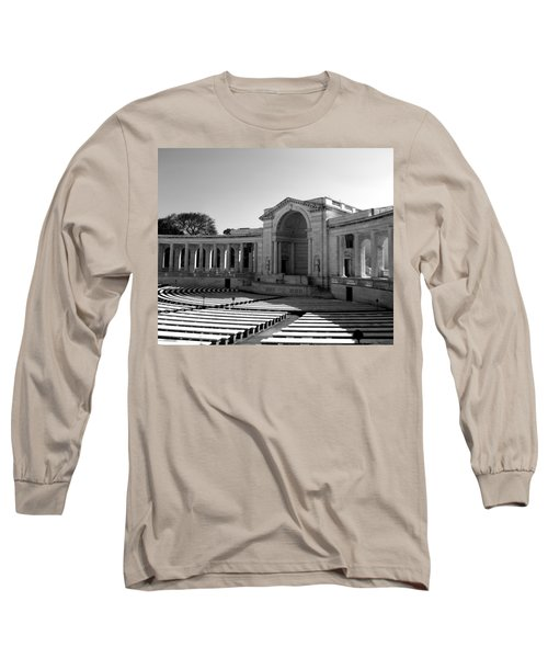 Arlington Memorial Amphitheater Long Sleeve T-Shirt