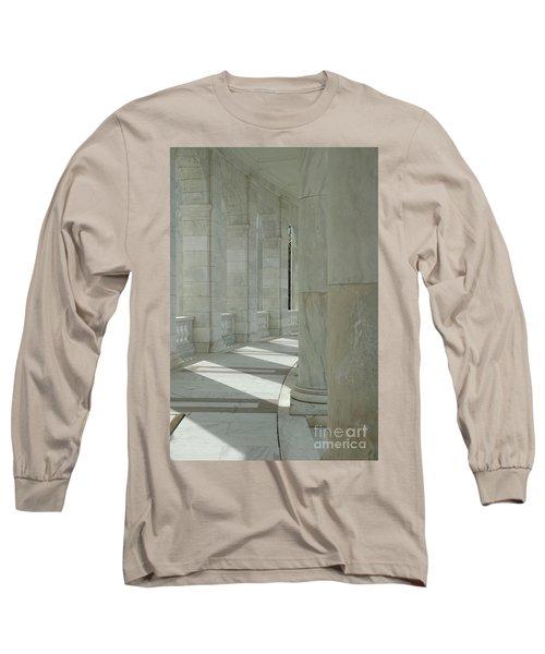 Arlington Memorial Amphitheater Hall Long Sleeve T-Shirt