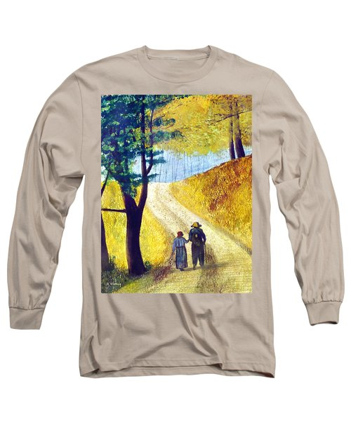 Arm In Arm Long Sleeve T-Shirt by Brian Wallace