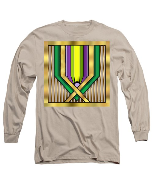 Art Deco 14 A Transparent Long Sleeve T-Shirt
