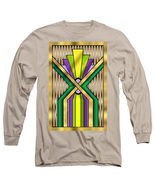 Art Deco 14 B Long Sleeve T-Shirt