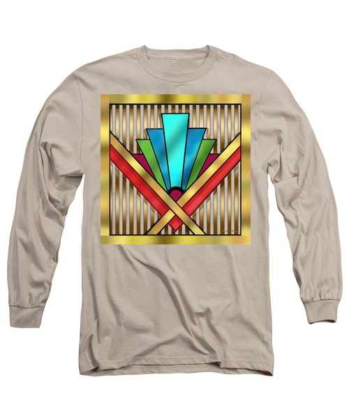 Art Deco 15 Transparent Long Sleeve T-Shirt