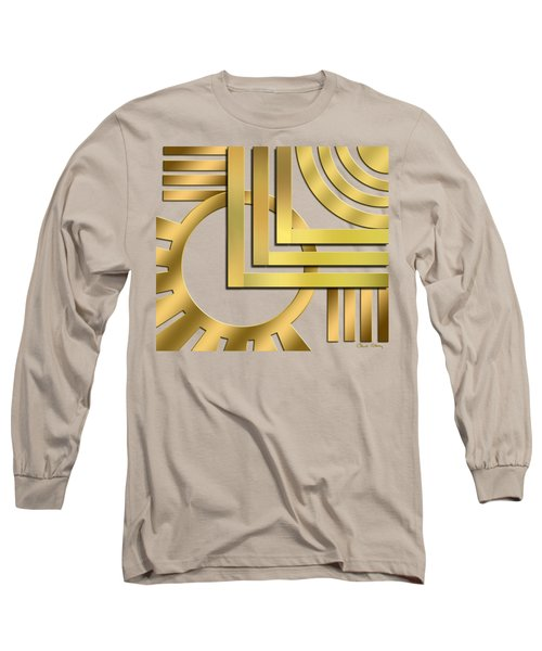 Art Deco 19 Transparent Long Sleeve T-Shirt