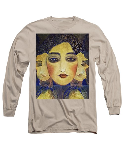 Art Deco  Beauty Long Sleeve T-Shirt by Alexis Rotella