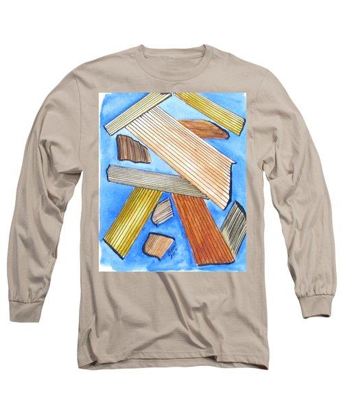 Art Doodle No. 24 Long Sleeve T-Shirt