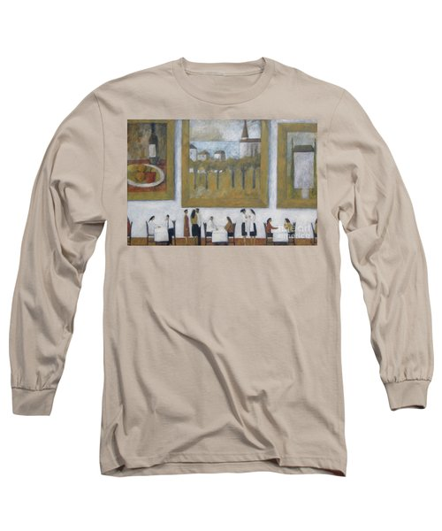 Art Is Long, Life Is Short Long Sleeve T-Shirt by Glenn Quist