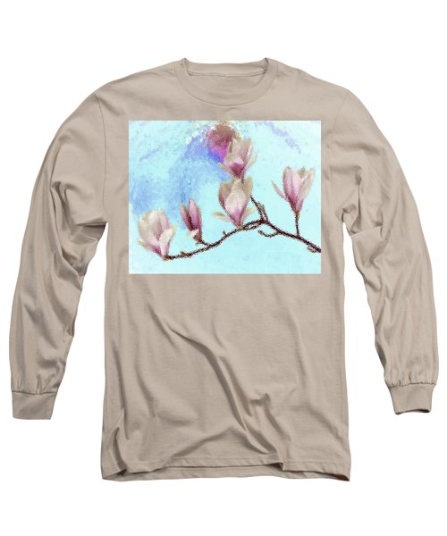 Art Magnolia Long Sleeve T-Shirt