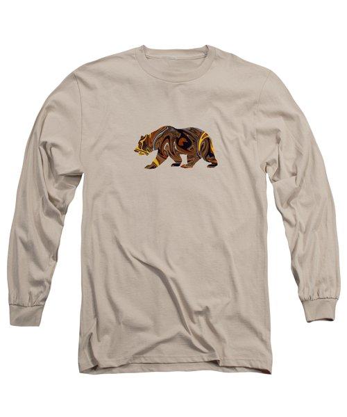 Artful Bear Long Sleeve T-Shirt
