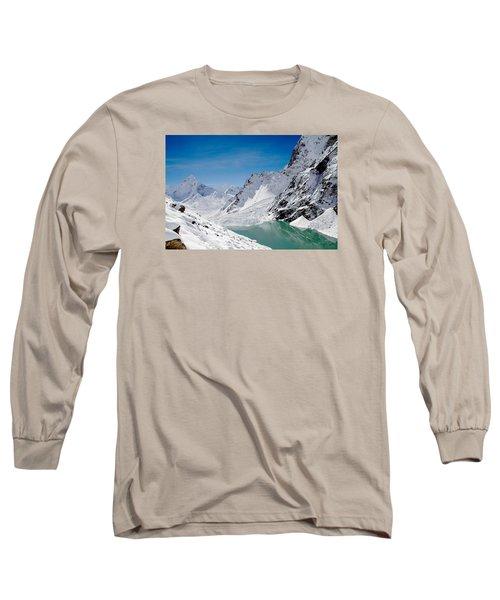 Artic Landscape Long Sleeve T-Shirt
