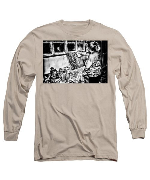 Artist At Work Long Sleeve T-Shirt