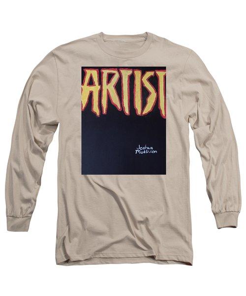 Artist 2009 Movie Long Sleeve T-Shirt by Joshua Maddison