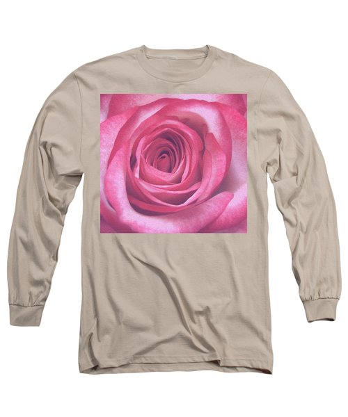 Artistic Red Rose Long Sleeve T-Shirt