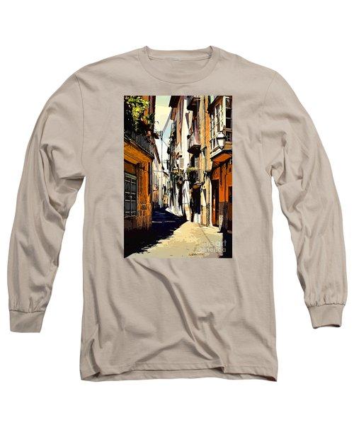 Artwork Palma De Mallorca Spain Long Sleeve T-Shirt