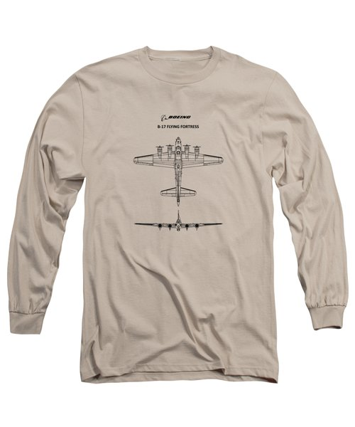 B-17 Flying Fortress Long Sleeve T-Shirt