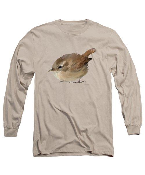 Wren Long Sleeve T-Shirt by Bamalam  Photography