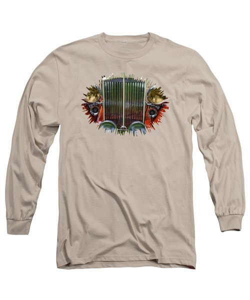 Long Sleeve T-Shirt featuring the photograph 1928 Classic Packard 443 Roadster by Thom Zehrfeld