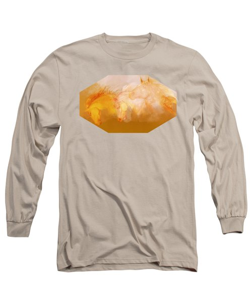 Flaxen Manes Long Sleeve T-Shirt