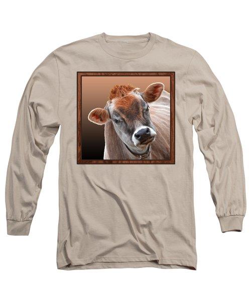 Hello Long Sleeve T-Shirt by Gill Billington