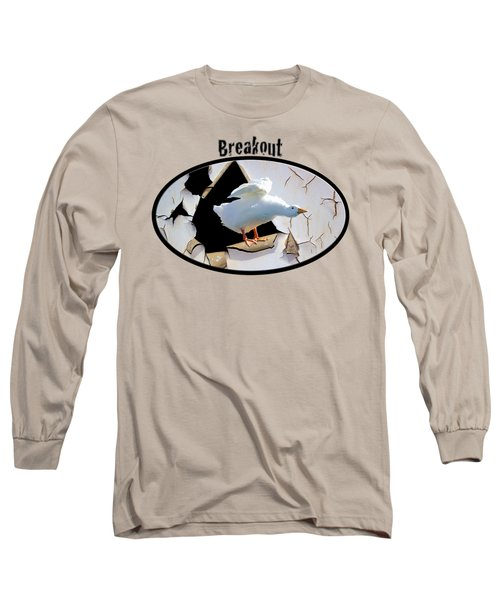 Long Sleeve T-Shirt featuring the photograph Breakout by Phyllis Denton