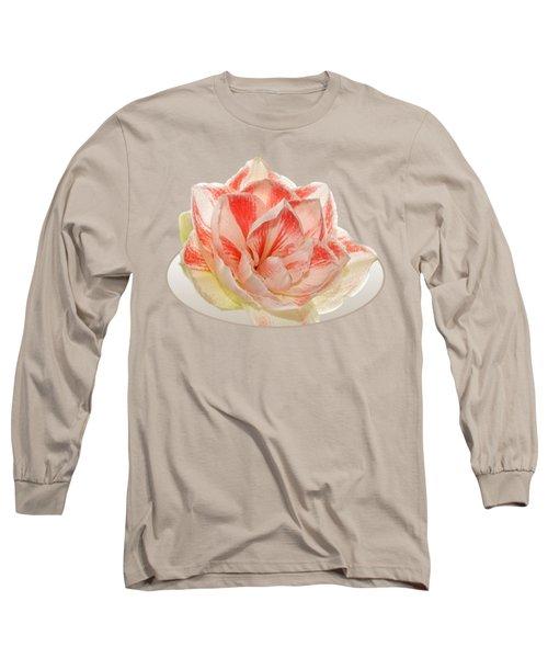 Double Pink Amaryllis Long Sleeve T-Shirt