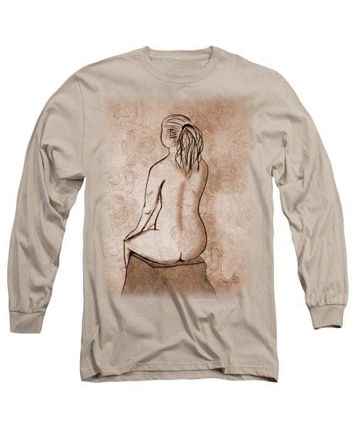 Life Drawing 1 Long Sleeve T-Shirt