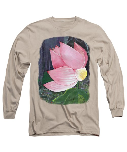 Pink Petals Long Sleeve T-Shirt