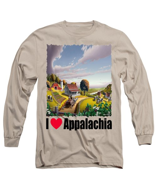 I Love Appalachia - Appalachian Blackberry Patch 1 Long Sleeve T-Shirt
