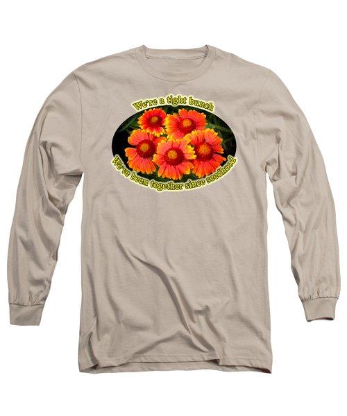 Bright Orange Gaillardia Long Sleeve T-Shirt