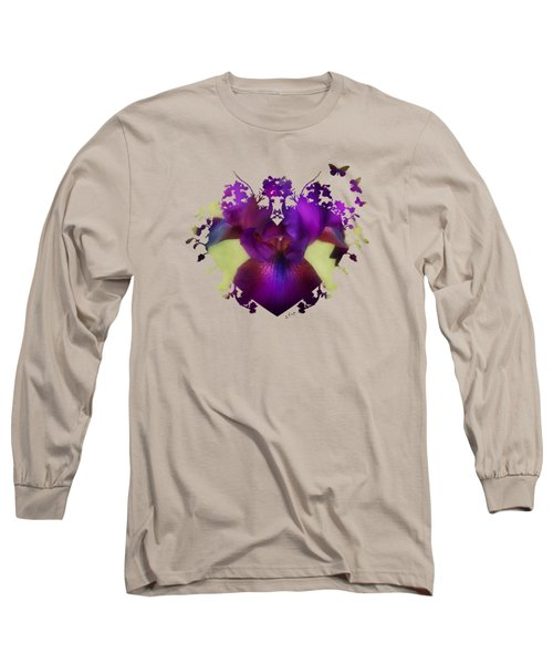 Deep Purple Long Sleeve T-Shirt by Anita Faye