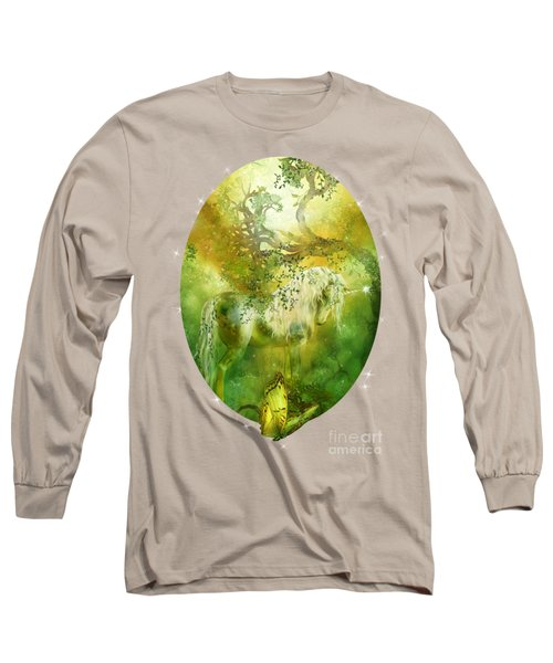 Unicorn Of The Forest  Long Sleeve T-Shirt