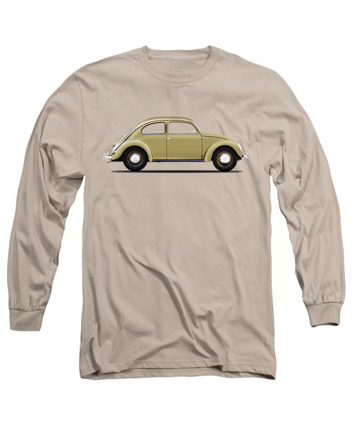 Vw Beetle 1946 Long Sleeve T-Shirt by Mark Rogan