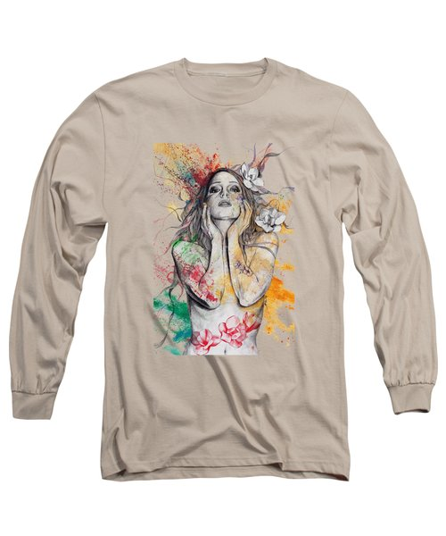 The Withering Spring Long Sleeve T-Shirt by Marco Paludet