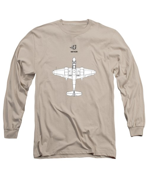 The Gloster Meteor Long Sleeve T-Shirt