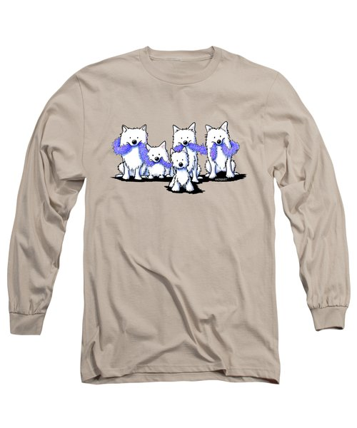 Sams And Westie Long Sleeve T-Shirt