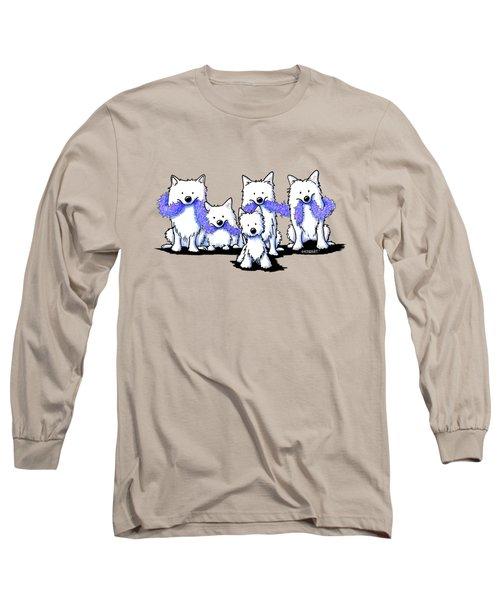 Sams And Westie Long Sleeve T-Shirt