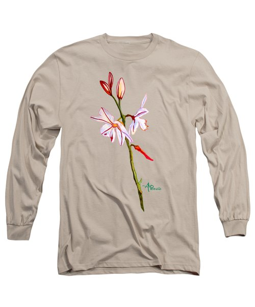 A Single Lily Long Sleeve T-Shirt