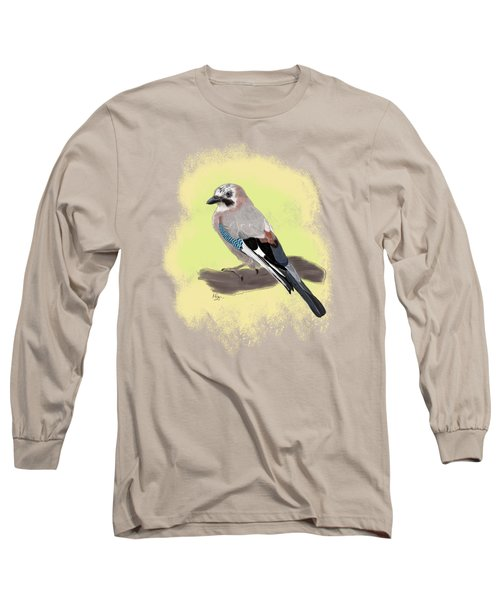 The Eurasian Jay Long Sleeve T-Shirt