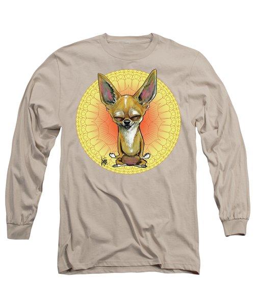 Meditating Chihuahua Long Sleeve T-Shirt
