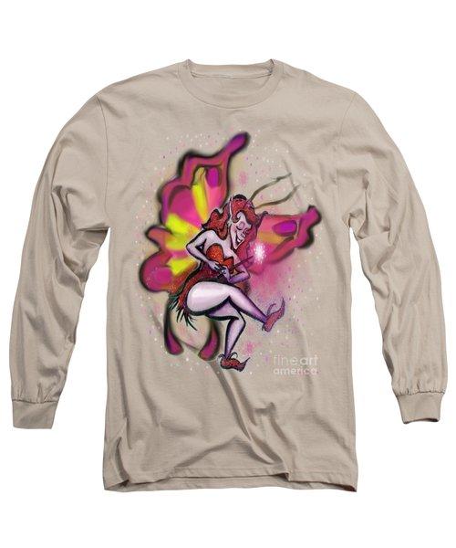 Pink Faerie Long Sleeve T-Shirt