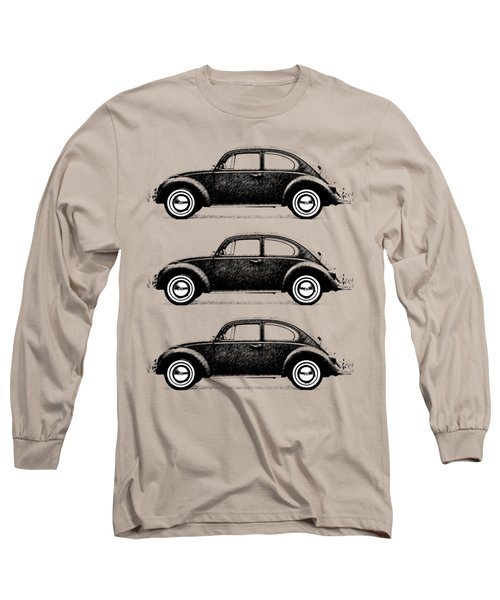 Think Small Long Sleeve T-Shirt by Mark Rogan