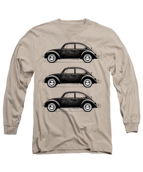 Think Small Long Sleeve T-Shirt by Mark Rogan