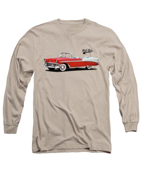 Chevrolet Bel Air 1956 Long Sleeve T-Shirt