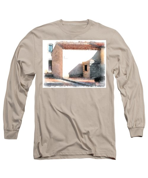 Arzachena Building Long Sleeve T-Shirt